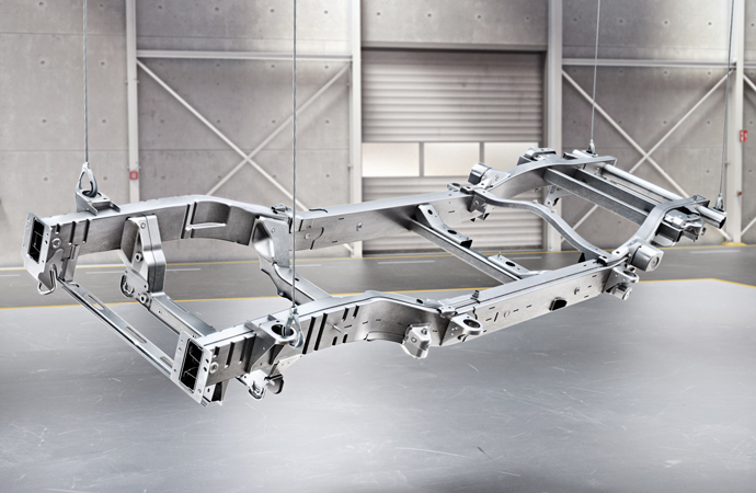 LADDER TYPE FRAME G CLASS CHASSIS
