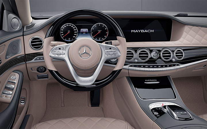 INTERIOR DESIGN MAYBACH