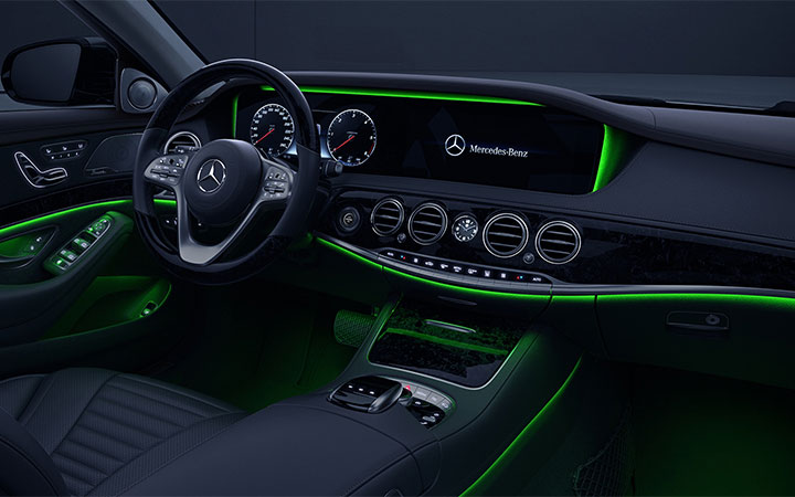 S CLASS INTERIOR AMBIENT LIGHTING